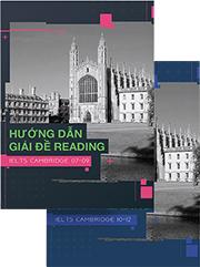 Cuốn sách Hướng dẫn giải đề Reading - IELTS Cambridge 07 - 12